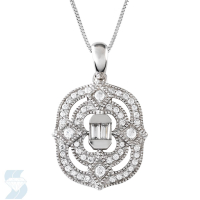 5195 0.45 Ctw Fashion Pendant