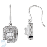 05197 0.38 Ctw Fashion Earring