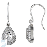 05199 0.46 Ctw Fashion Earring
