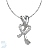 5258 0.07 Ctw Fashion Pendant