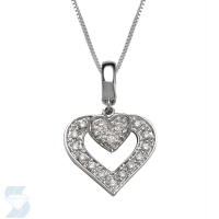 5263 0.10 Ctw Fashion Pendant