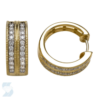 05266 0.46 Ctw Fashion Earring