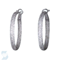 5339 3.74 Ctw Fashion Earring