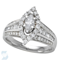05358 1.19 Ctw Bridal Engagement Ring