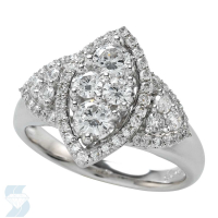 5359 1.03 Ctw Bridal Multi Stone Center