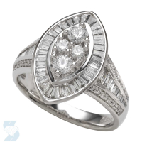 05360 1.35 Ctw Bridal Multi Stone Center