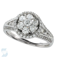 5361 1.00 Ctw Bridal Multi Stone Center