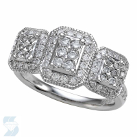 5379 0.76 Ctw Bridal Engagement Ring
