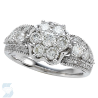 05380 1.30 Ctw Bridal Multi Stone Center