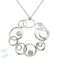 5464 0.11 Ctw Fashion Pendant