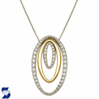 5511 0.89 Ctw Fashion Pendant