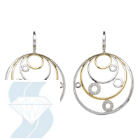 05857 0.13 Ctw Fashion Earring