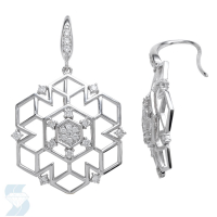 05877 0.49 Ctw Fashion Earring