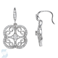 5886 0.51 Ctw Fashion Earring