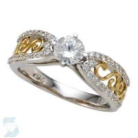 05898 0.74 Ctw Bridal Engagement Ring