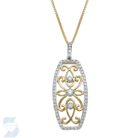 5916 0.55 Ctw Fashion Pendant