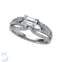 05936 1.08 Ctw Bridal Engagement Ring
