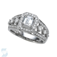 05937 1.01 Ctw Bridal Engagement Ring