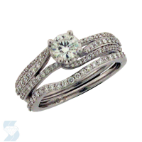 5984 0.97 Ctw Bridal Engagement Ring