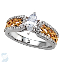 05992 0.74 Ctw Bridal Engagement Ring