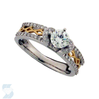 06004 0.74 Ctw Bridal Engagement Ring