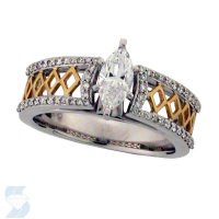 6005 0.74 Ctw Bridal Engagement Ring