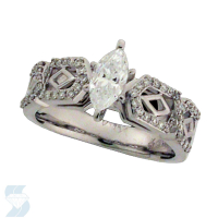 6007 0.76 Ctw Bridal Engagement Ring