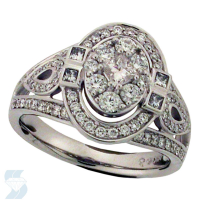 06022 1.04 Ctw Bridal Engagement Ring
