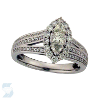 6039 0.85 Ctw Bridal Engagement Ring