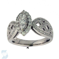 6040 0.91 Ctw Bridal Engagement Ring
