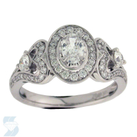 06049 0.97 Ctw Bridal Engagement Ring