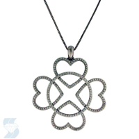 6065 0.91 Ctw Fashion Pendant