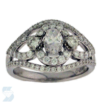 06066 1.10 Ctw Bridal Engagement Ring