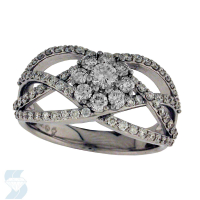06072 0.98 Ctw Bridal Multi Stone Center