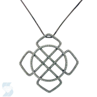 6074 0.91 Ctw Fashion Pendant