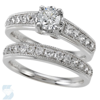 06092 0.50 Ctw Bridal Bridal Set