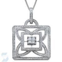 06257 0.92 Ctw Fashion Pendant