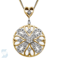 6294 0.21 Ctw Fashion Pendant