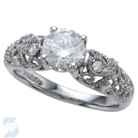 06343 1.10 Ctw Bridal Engagement Ring