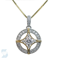 06350 0.49 Ctw Fashion Pendant