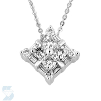 6390 0.76 Ctw Fashion Pendant