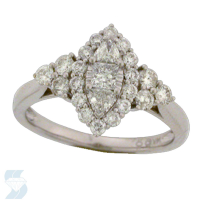 6395 0.89 Ctw Bridal Engagement Ring