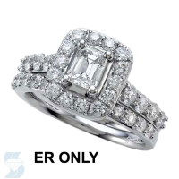 06466 1.61 Ctw Bridal Engagement Ring