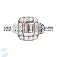 6512 0.74 Ctw Bridal Engagement Ring