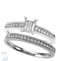 6514 0.33 Ctw Bridal Set