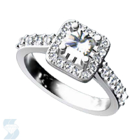 06519 1.49 Ctw Bridal Engagement Ring