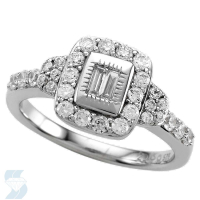 6565 0.74 Ctw Bridal Engagement Ring