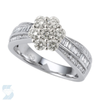 06580 0.99 Ctw Bridal Multi Stone Center