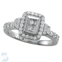 6582 0.52 Ctw Bridal Engagement Ring