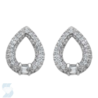 06588 0.85 Ctw Fashion Earring